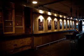 Black eagle bar on Church Street Toronto, internal view of the bar